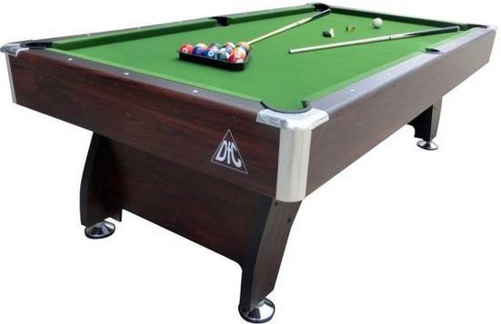 Бильярдный стол DFC Vancuver 8 8FT коричневый