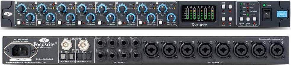Прибор звуковой обработки Focusrite Oct…