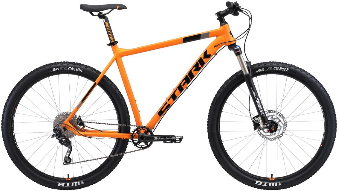 """Велосипед Stark Krafter 29.7 HD (2019) оранжевый/черный 29""""/18"""""""