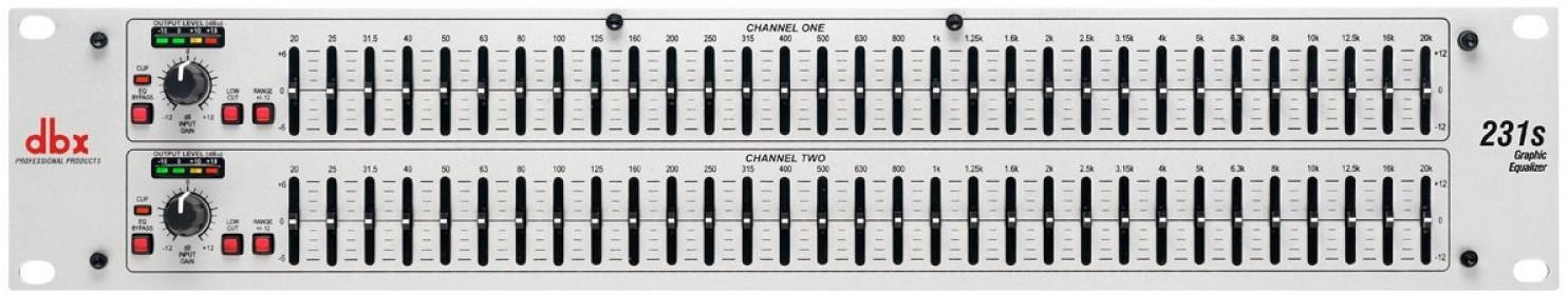 Прибор звуковой обработки DBX 231S
