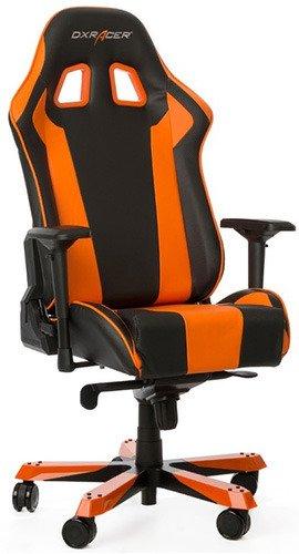 Игровое кресло DXRacer OH/KS06/NO оранжевый/черный