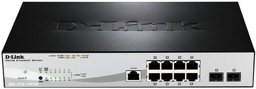 Коммутатор D-Link DGS-1210-10P/ME/B1A