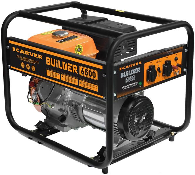 Бензогенератор Carver PPG-6500 Builder