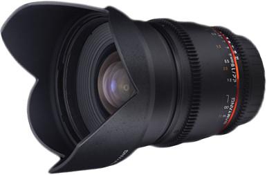 Объектив Samyang MF 16mm T2.2 ED AS UMC CS VDSLR Sony A Black