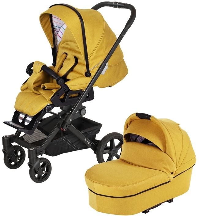 Коляска Hartan VIP GTS XL 511 2в1 Yellow (без сумки)