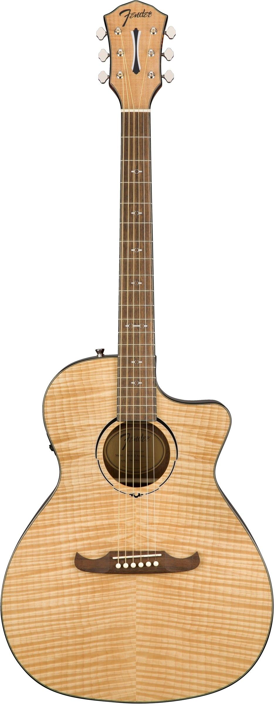 Акустическая гитара Fender FA-345CE Auditorium Nat LR