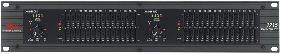 Прибор звуковой обработки DBX 1215