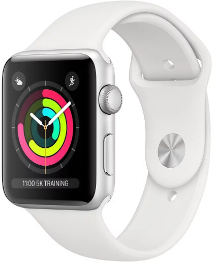 Умные часы Apple Watch Series 3 38mm MTEY2 Silver/White