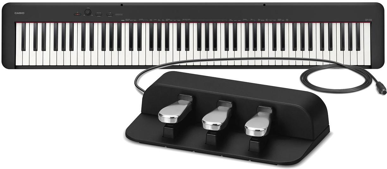 Пианино Casio CDP-S150BK + Casio SP-34