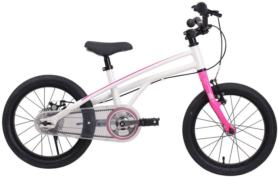 "Велосипед Royal Baby H2 All 18 бело-розовый 18"""