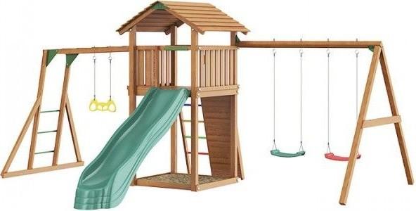 Jungle Gym Cottage + Swing Module Xtra …