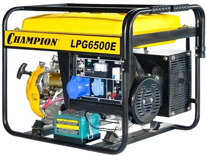 Электрогенератор Champion LPG6500E