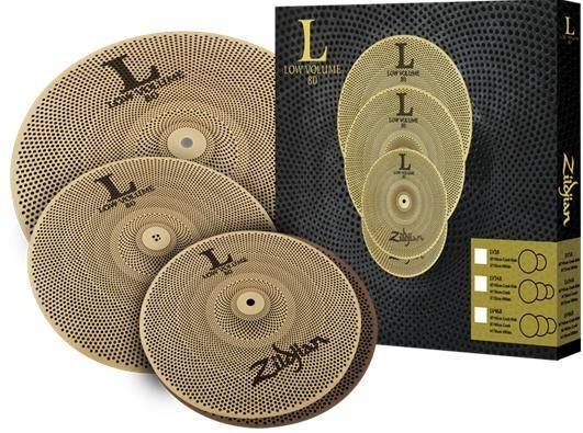 """Комплект тарелок Zildjian LV348 L80 Low Volume 13/14/18"""""""