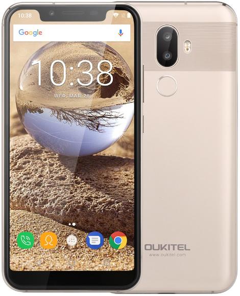 Смартфон Oukitel U18 LTE 4Gb 64Gb Gold
