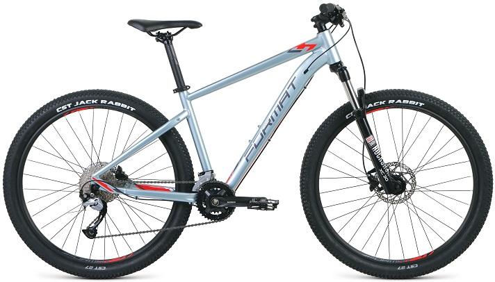 """Велосипед Format 1411 27.5 (2020) серебристый 27.5""""/M"""