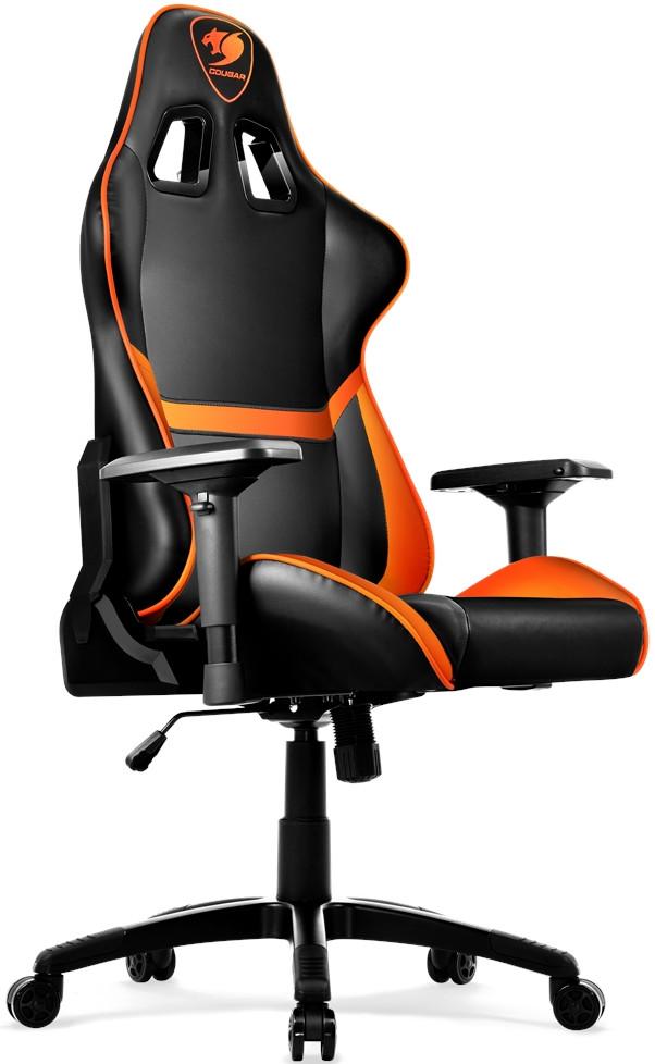 Игровое кресло Cougar Armor черный/оран…