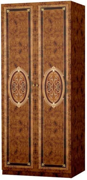 Шкаф Интердизайн Лара коричневый/коричневый 2102x897x582 см
