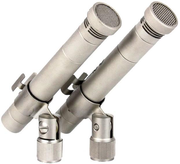 Микрофон Октава МК-012-01 стереопара никель