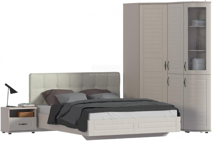 Спальня Столплит Сити 129-232-832-4638 бежевый песок/кофе