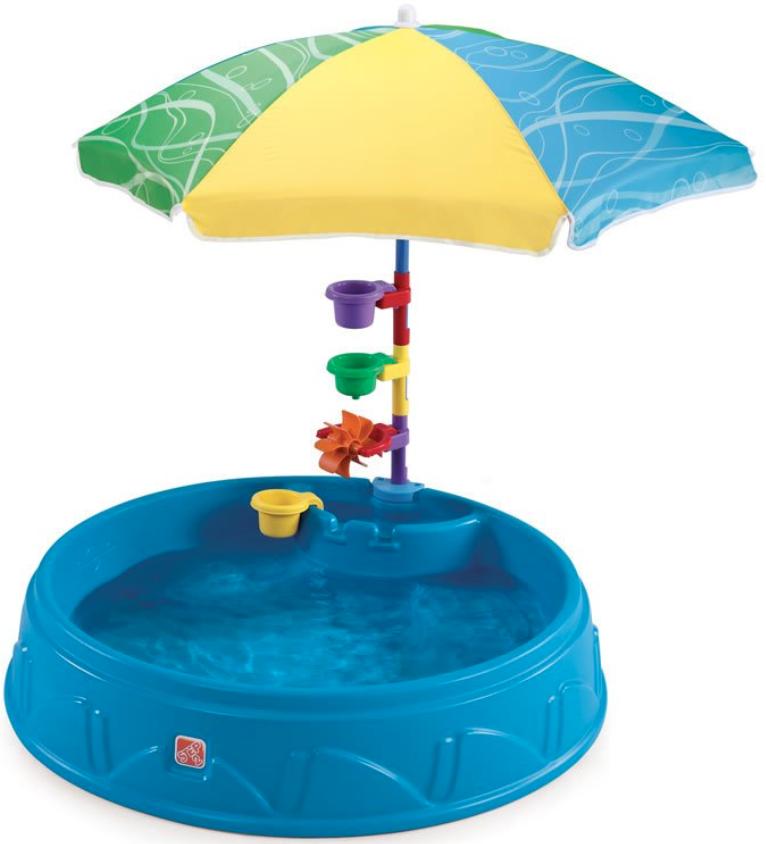 Бассейн Step2 716000 (с зонтиком)