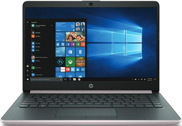 """Ноутбук HP 14-cf0013ur 14""""/1,6GHz/8Gb/1Tb/Radeon 530/W10 Pink"""