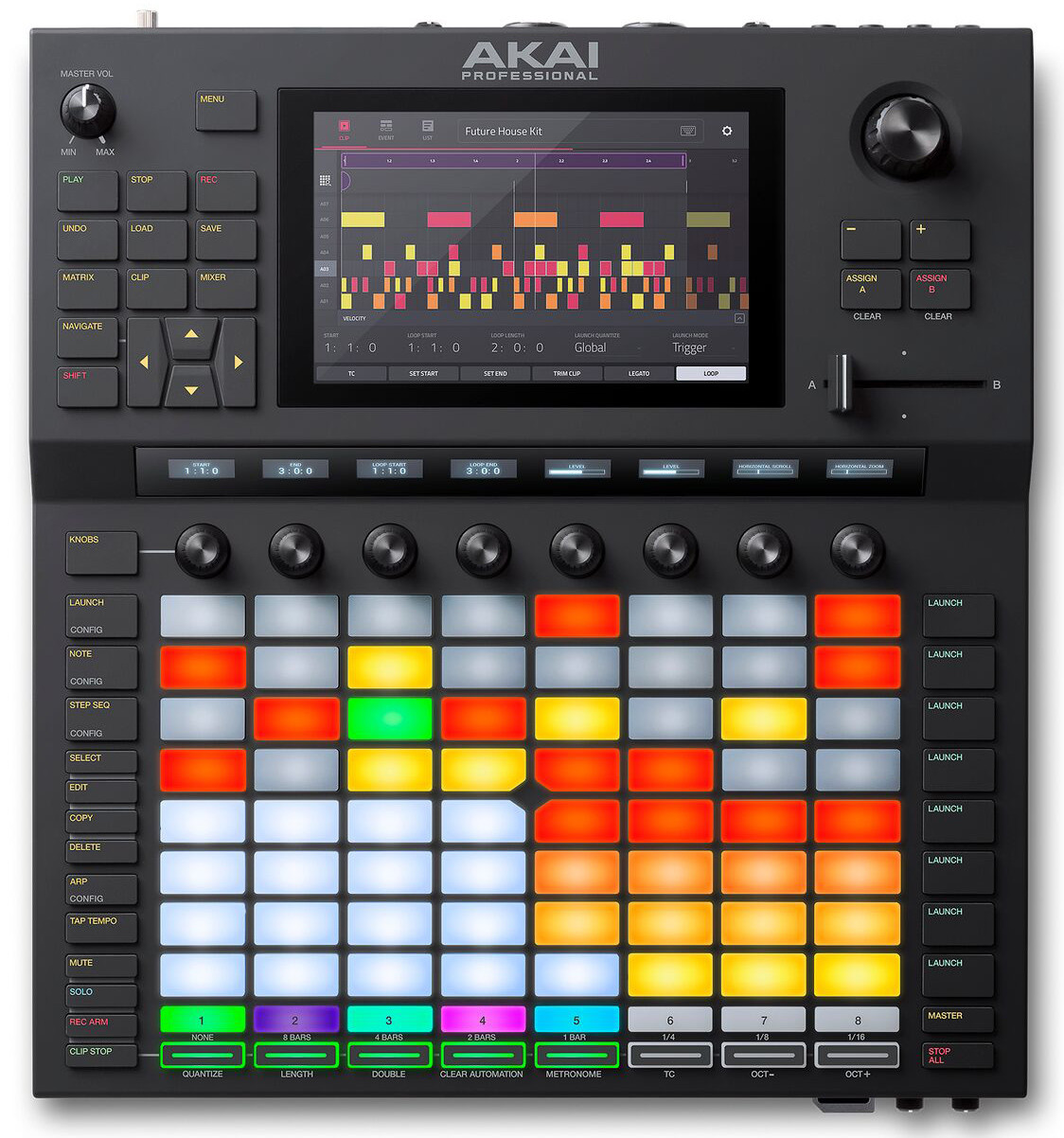 Dj-контроллер Akai Pro Force