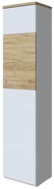 Шкаф Интердизайн Тоскано 31.100.OkW дуб/белый 2000x452x375 см (левый)