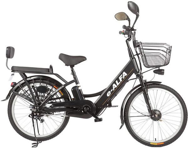 Велосипед Eltreco E-Alfa (2018) Black 2…