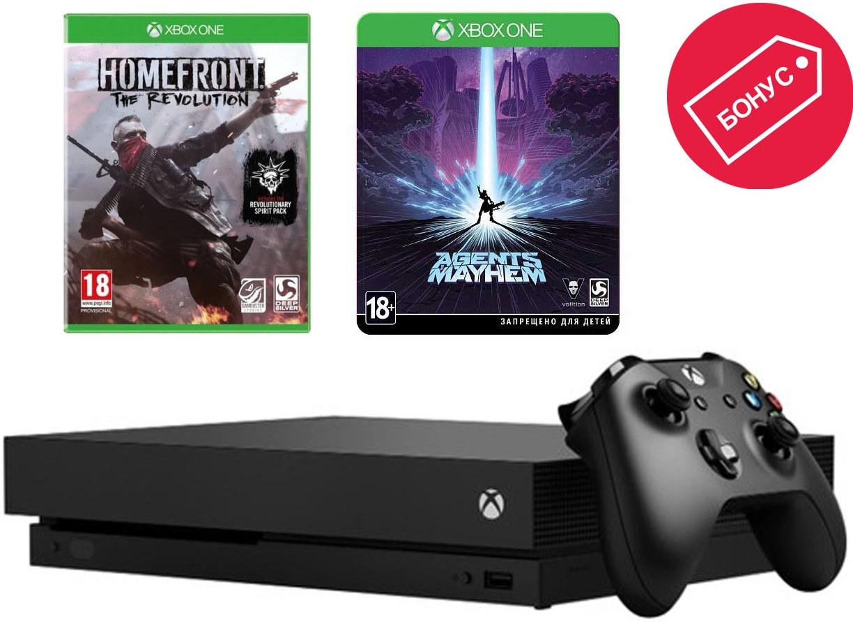 Игровая приставка Microsoft Xbox One X …