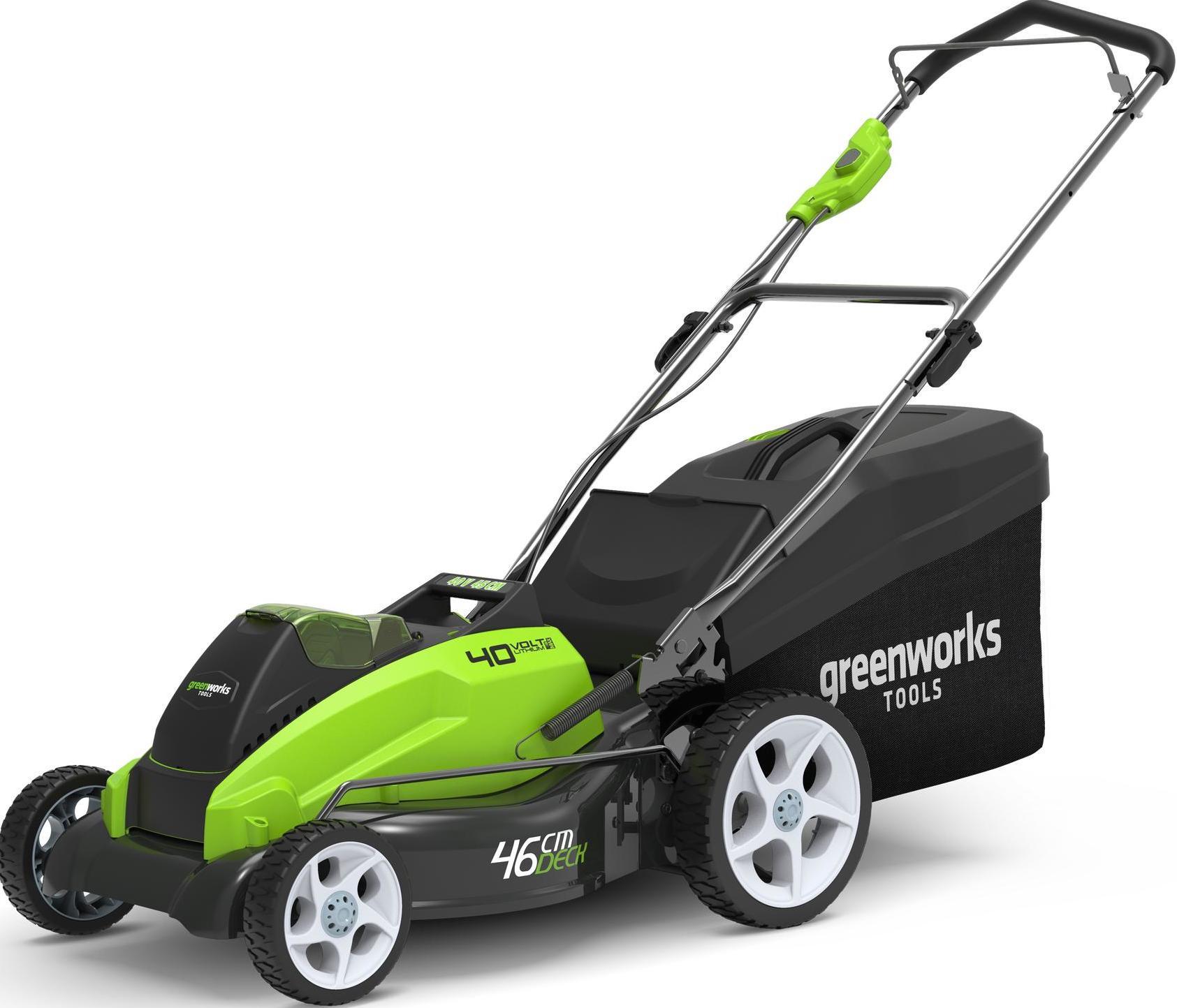 Газонокосилка GreenWorks G40LM45K4 40V