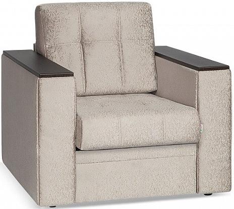 Кресло Цвет Диванов Атланта Next кофейный 90x92x94 см