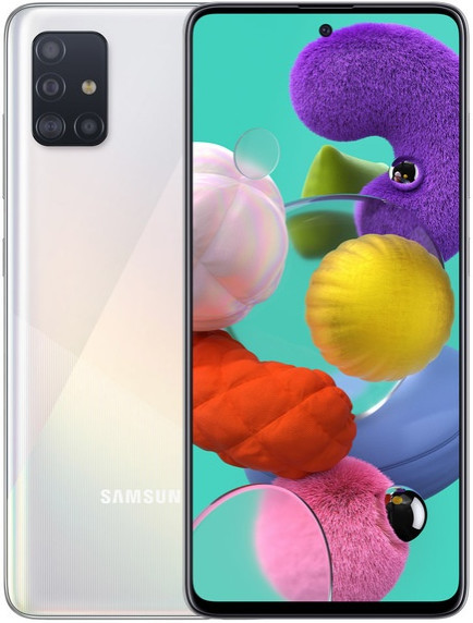 Смартфон Samsung Galaxy A51 LTE 4Gb 64Gb White
