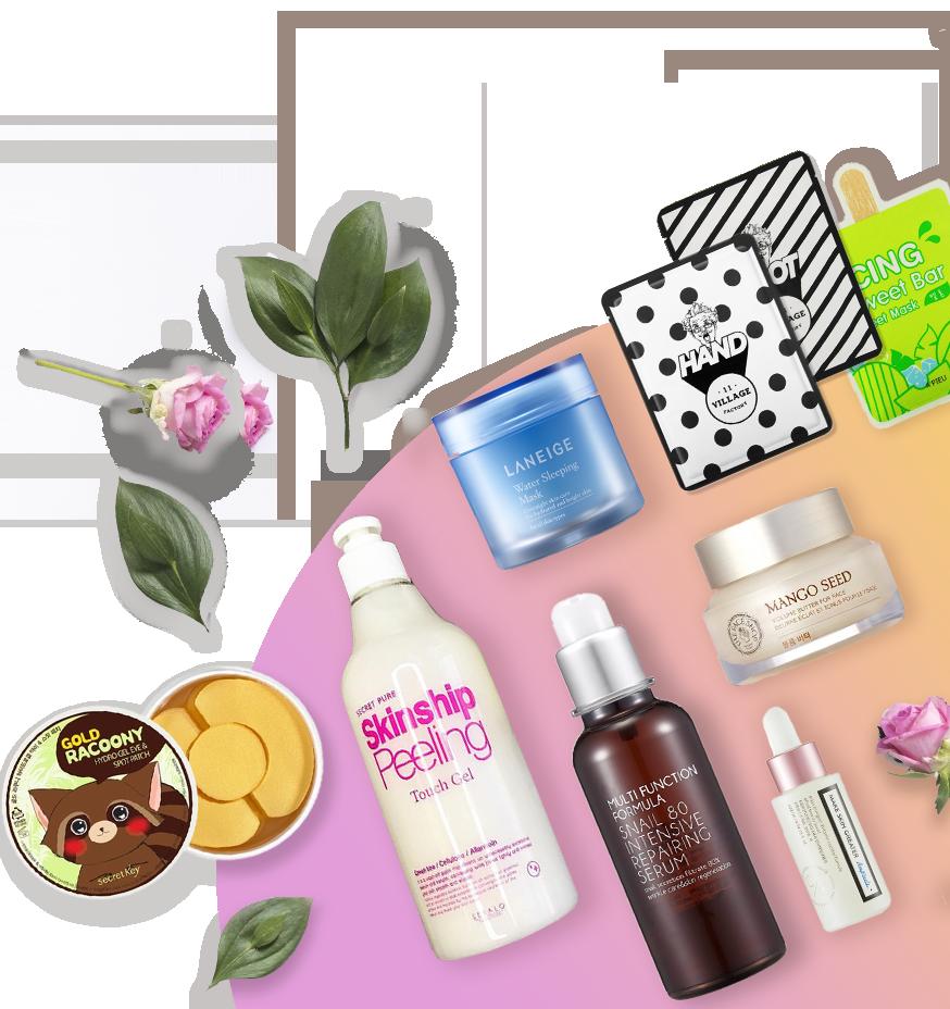 Набор косметики Cosmetic Box для ежедневного ухода за кожей лица, требующей увлажнение