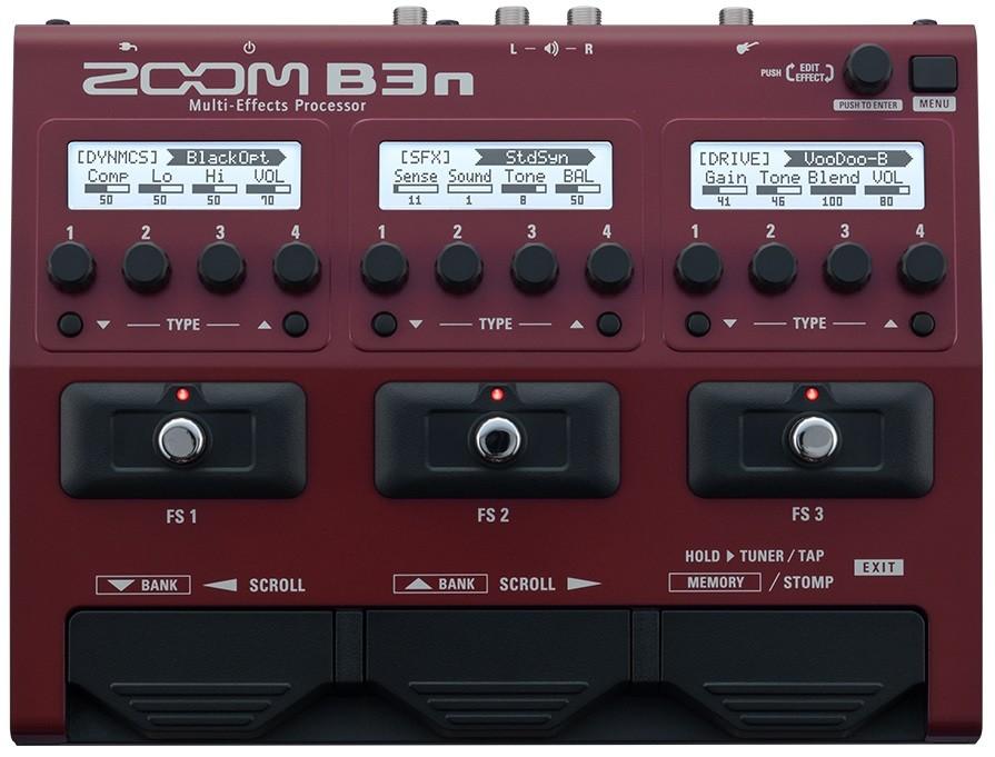 Процессор эффектов Zoom B3N