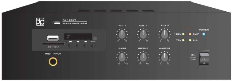 Усилитель мощности Direct Power Technology PA-120BT