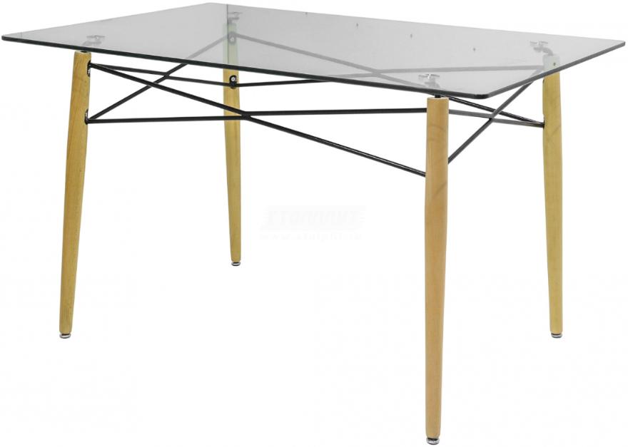 Кухонный стол Столплит DT-025 80x74x120 см (cтекло)