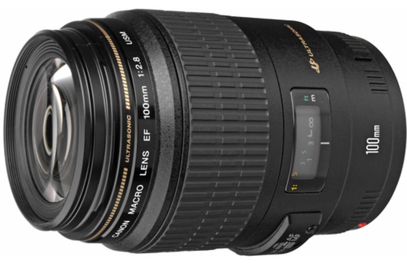 Объектив Canon EF 100mm f/2.8 Macro USM Black