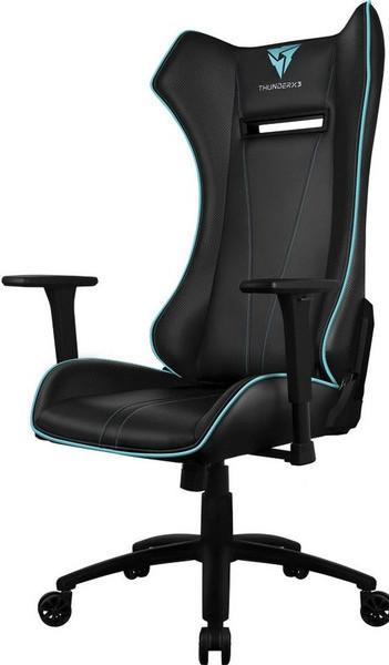 Игровое кресло ThunderX3 UC5-BC черный/голубой