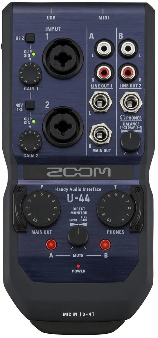Звуковая карта Zoom U-44