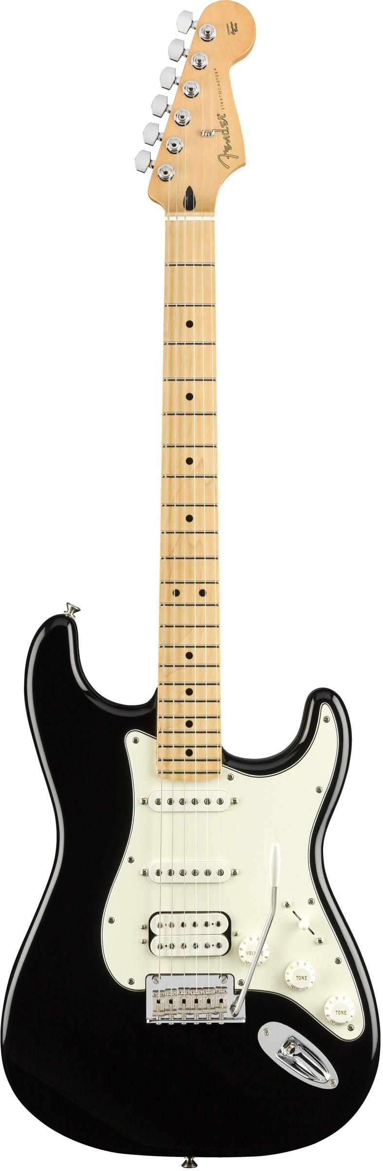 Электрогитара Fender Player Strat HSS MN BLK