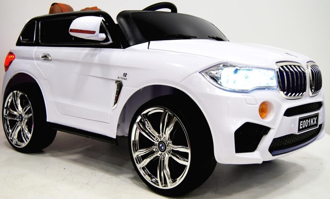 Электромобиль RiverToys BMW E002KX White