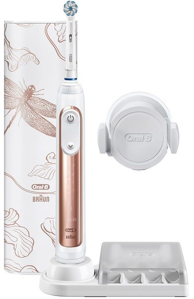 Электрощетка Braun Oral-B Genius 10000N Rose Gold (1 насадка)