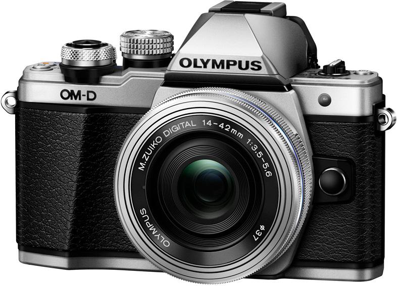 Фотоаппарат Olympus OM-D E-M10 Mark II Kit 14-42mm f/3.5-5.6 EZ Silver + 40-150mm f/4.0-5.6 R