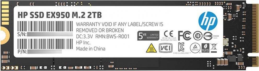 SSD-накопитель HP EX950 2Tb/SSD/M.2