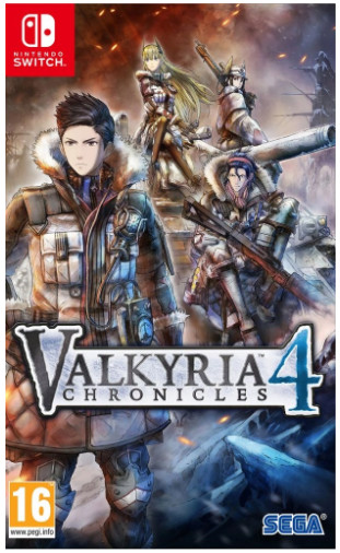 Игра Valkyria Chronicles 4 Collector's Edition Nintendo Switch