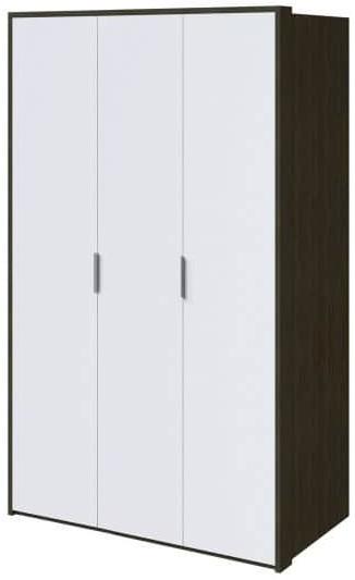 Шкаф Интердизайн Тоскано ясень темный/белый 2209x1420x599 см