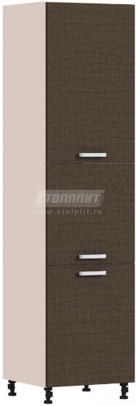 Пенал Столплит Регина 331-360-360-5335 песочный/дуб сантана темный 60x237x56 см