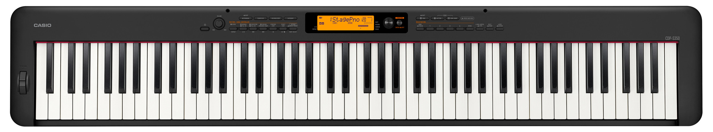 Пианино Casio CDP-S350BK