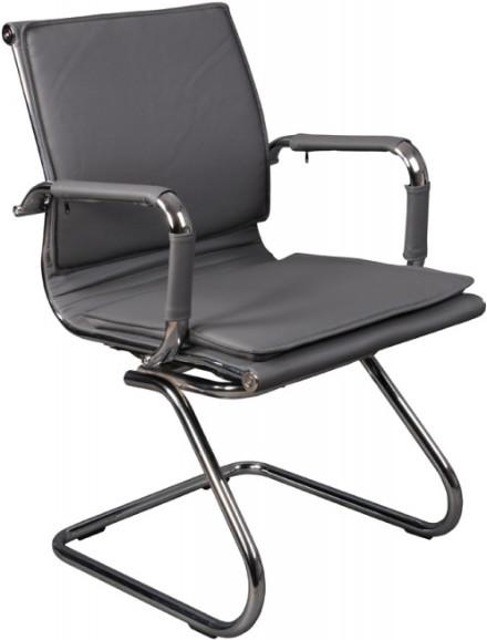 Кресло посетителя Бюрократ CH-993-LOW-V/GREY серый