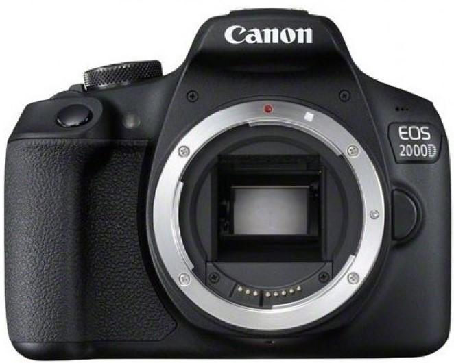 Фотоаппарат Canon EOS 2000D Body Black